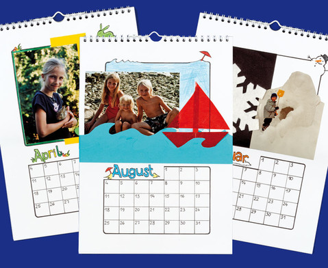 Betzold Blanko-Kalender 3 Stueck