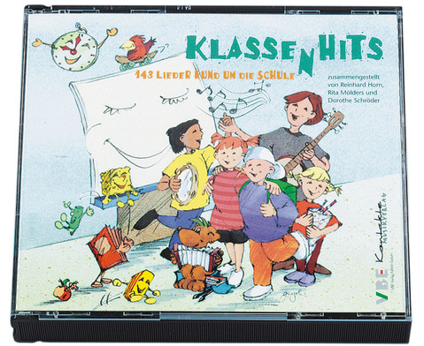 CD-Paket KlassenHits - fuer Klasse 1-6