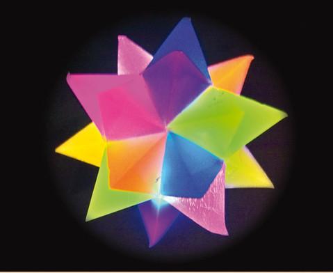 Flummi Leucht-Kristall-Stern