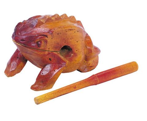 Frosch-Guiros mit Schlaegel-2