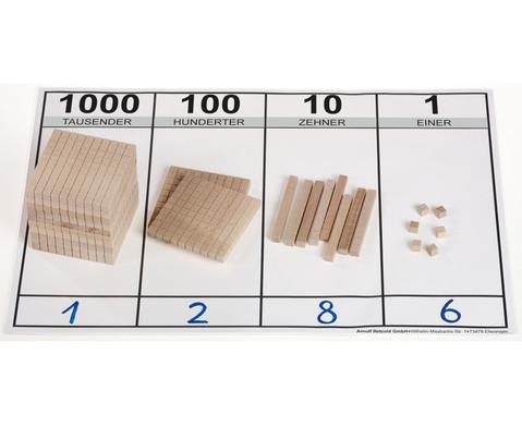 edumero Holz Dezimalsystem Satz-1