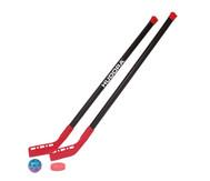 Hockeyset für 2 Spieler, 4-teilig