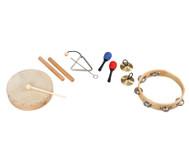 Rhythmik-Musikinstrumente-Set, 6-tlg.