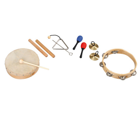 edumero Rhythmik-Musikinstrumente-Set 6-tlg-1