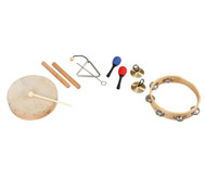 edumero Rhythmik-Musikinstrumente-Set, 6-tlg.