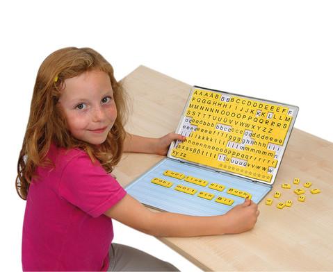 Lese-Magnetbox mit 32 Arbeitsblaettern
