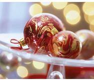 Marmorier-Set Weihnachten, 22-tlg.