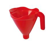 Trichter-Sieb-Set rot/blau