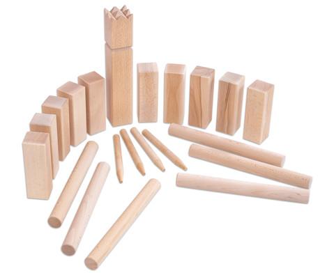 Holzwurfspiel Wikinger