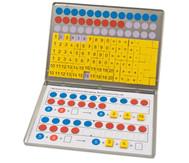 1, 2, 3 ... Zahlenzauberei: Rechen-Magnetbox mit 30 Arbeitsblättern
