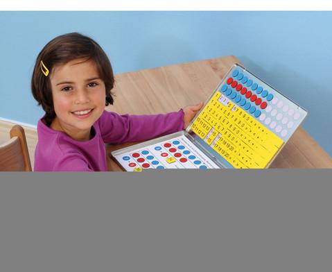 1 2 3  Zahlenzauberei Rechen-Magnetbox mit 30 Arbeitsblaettern-5