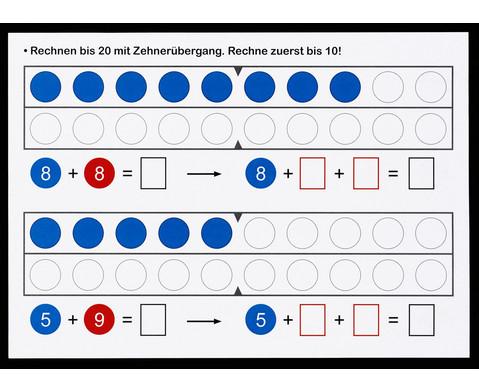 1 2 3  Zahlenzauberei Rechen-Magnetbox mit 30 Arbeitsblaettern-2