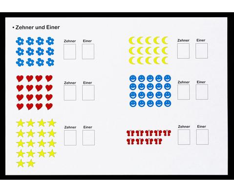 1 2 3  Zahlenzauberei Rechen-Magnetbox mit 30 Arbeitsblaettern-3