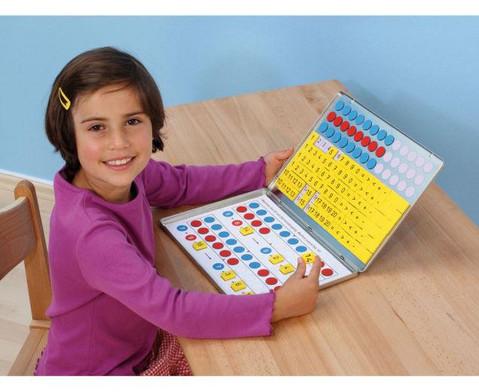 1 2 3  Zahlenzauberei Rechen-Magnetbox mit 30 Arbeitsblaettern-4