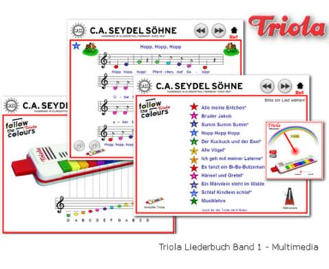 Triola Liederbuch Band 1 - Deutsche Kinderlieder