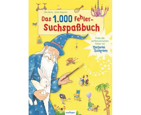 Zacharias Zuckerbein 1000 Fehlersuchspassbuch-1