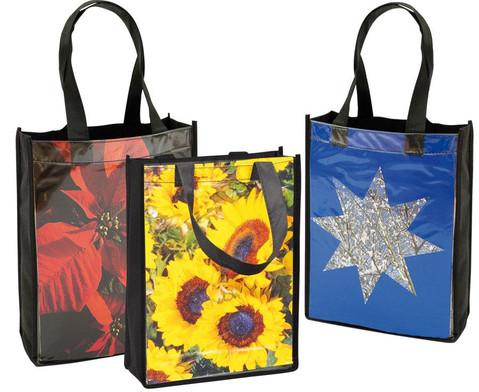Kunststofftasche mit Einschub 3er-Set-1