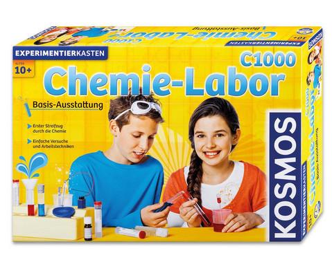 Chemie-Baukasten Chemielabor C1000-1