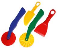 Knet Werkzeuge - 4-tlg.