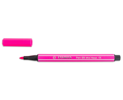 Stabilo Mini Filzstifte Pen 68 15 Stueck-3