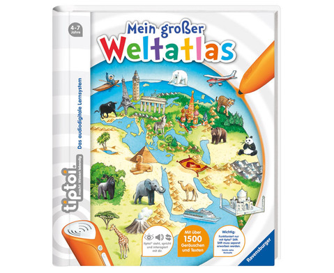 tiptoi Mein grosser Weltatlas-1