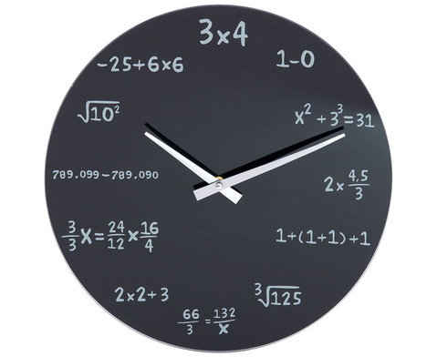 Mathematik Uhr-1
