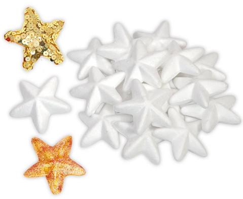 Styropor Sterne 25 Stueck-1