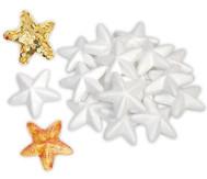 Styropor Sterne, 25 Stück