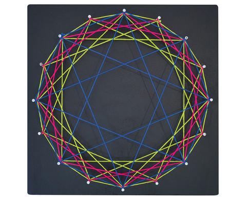 edumero Nagelbrettchen - Mandala-1