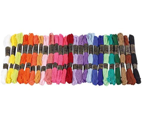 Stickgarn Set  25 Farben je 8 Meter-1