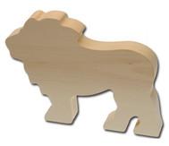 Schnitzrohling Löwe
