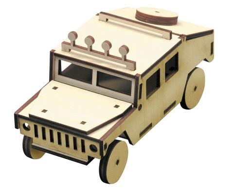 Holzbausatz Hummer-1