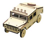 Holzbausatz Hummer
