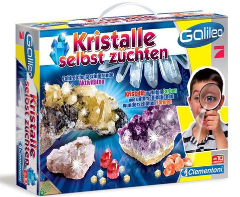 Galileo Kristalle zuechten