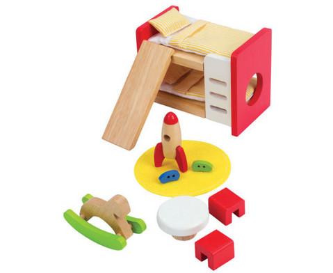 Puppenmoebel Kinderzimmer-2
