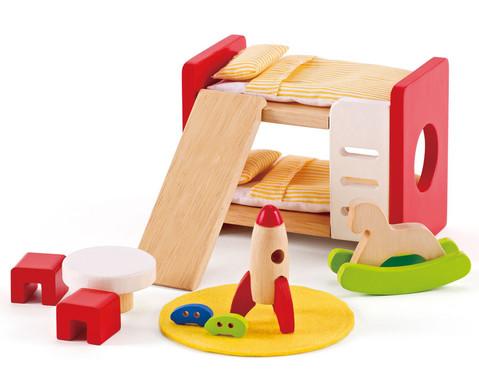 Puppenmoebel Kinderzimmer-1