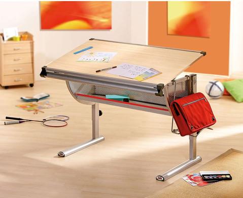 Schreibtisch und Rollcontainer Set
