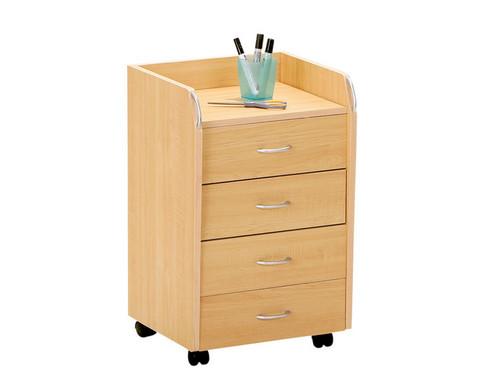 Schreibtisch und Rollcontainer Set-2