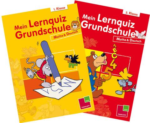 Mein Lernquiz Grundschule 1  2 Klasse Mathe  Deutsch
