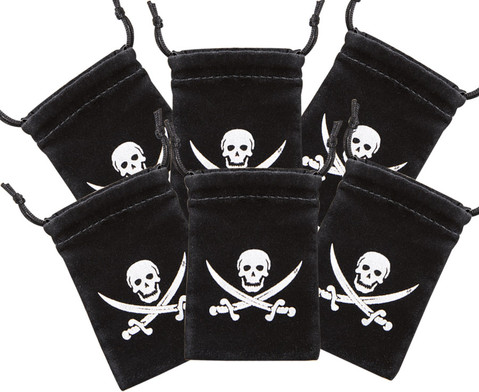 Piratenbeutel 6er Set-1