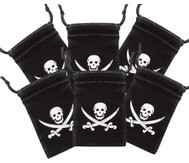 Piratenbeutel 6er Set