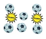 Fußball Spring -Plopper 6er Set