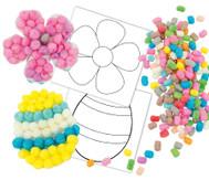 PlayMais® Mosaic Osterkarten - 6er Set