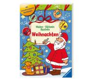Weihnachts-Mal-und Bastelbuch