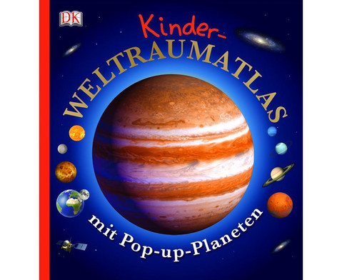 Weltraumatlas mit Pop-up Planeten-2