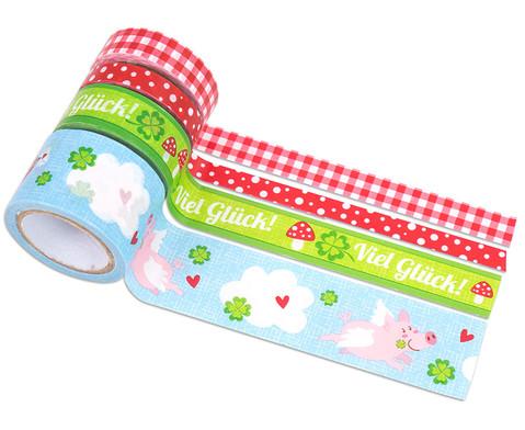 Deko-Tape Glueck 4 Tapes a 5 Meter-1