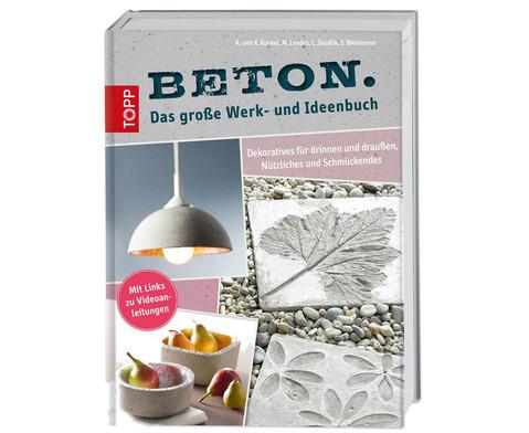 Beton - Das grosse Werk-und Ideenbuch-1