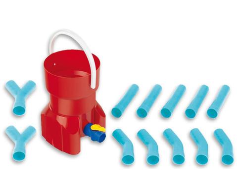 Rohrleitungs-Bausystem mit Wasserspeicher 14-teilig-1