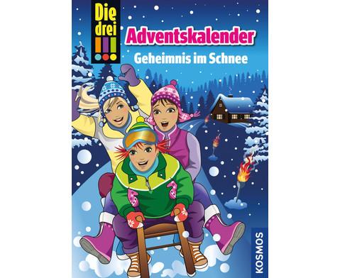 Die drei  Adventskalender Buch-1