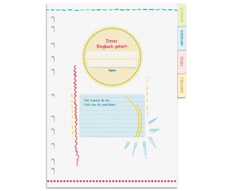 Meine Schulzeit - Zeugnismappe A4 mit Register-2